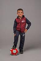 Спортивный костюм для мальчика трикотаж двухнить рост:98-116 см