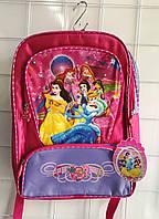 Рюкзак ортопедический школьный Принцесы на 4 отдела
