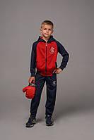 Детский спортивный костюм для мальчика материал лакоста рост:122-164 см
