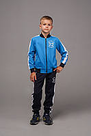 Спортивный костюм для мальчика трикотаж двухнить рост:122,128,134,140,146 см