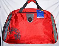 Универсальная дорожная красная сумка 57*36 см