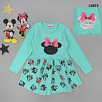 Сукня Minnie Mouse для дівчинки (двосторонні паєтки). 86-92 см