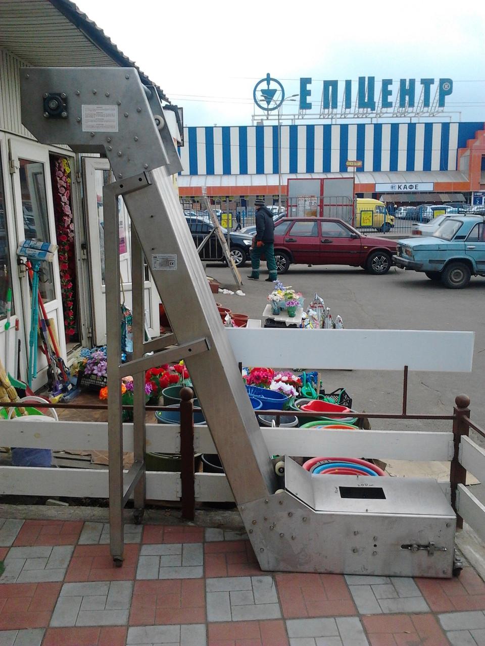 """Подъемник транспортер """"Гусиная шея"""" DELTA (Италия)"""