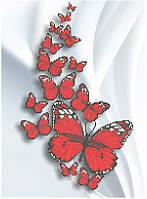 СКВ-175. Схема для вишивки бісером Метелики