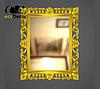 Зеркало настенное Lagos в золотой раме, фото 2
