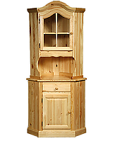 Буфет вінтажний під старину дерев'яний кутовий Кімбер
