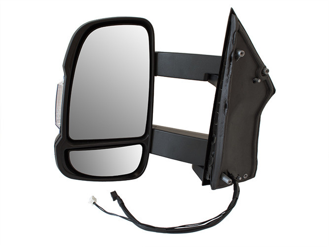 Зеркало в сборе электро длинное   L Iveco Daily 06-