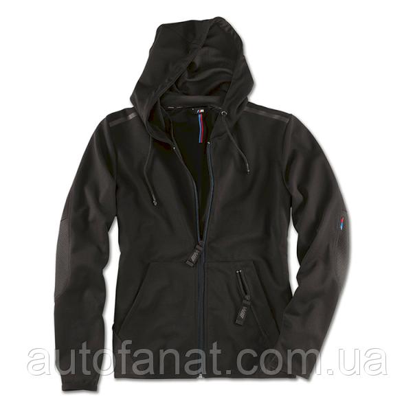 Оригинальная мужская толстовка BMW M Sweatjacket, Men, Black (80142454704)