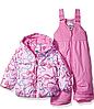 Зимний раздельный розовый комбинезон ZeroXposur  для девочки 24мес