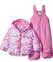 Зимний раздельный розовый комбинезон ZeroXposur  для девочки 24мес, фото 1