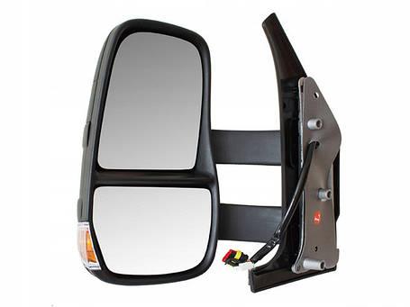 Зеркало в сборе электро длинное   L Iveco Daily 06-, фото 2
