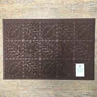 Придверный коврик, прямоугольный, из полиэстера на резиновой основе
