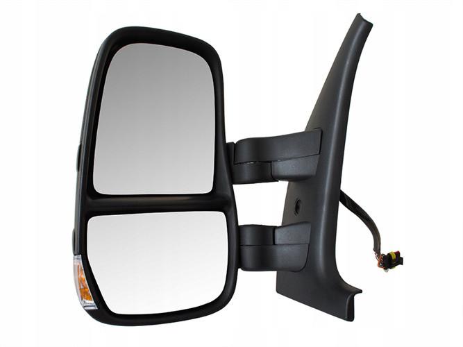 Зеркало в сборе электро  L Iveco Daily 06-14