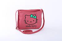 Маленькая женская сумочка из эко-кожи с вышивкой. разные цвета, фото 1