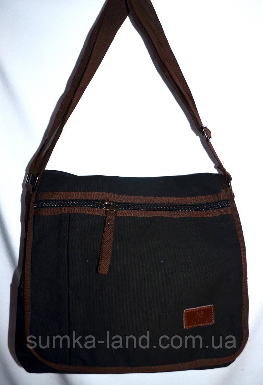 47855bc1c055 Мужская школьная сумка-планшет на плечо 31*30 см (черный): продажа ...