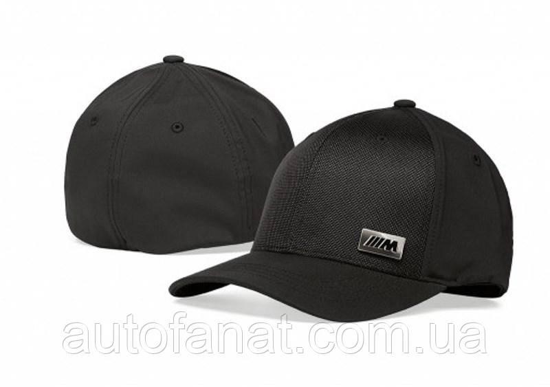 Оригинальная бейсболка унисекс BMW M Cap, Flexfit, Black (80162454740)