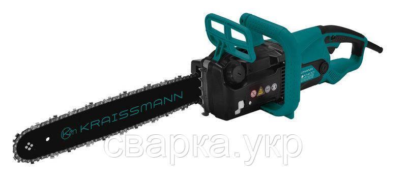 Электропила ручная цепная KRAISSMANN EKS'2400