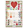 Набор декоративных элементов Новогодних Nordic Christmas, First Edition FEXEMB01