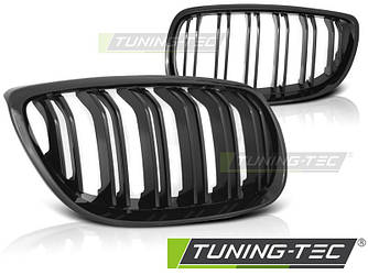 Решетки радиатора ноздри BMW E92 (07-10) М стиль черный глянц