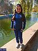 Спортивный костюм детский Звёздочки Adidas 34,36,38   ткань дайвинг 3 цвета, фото 2