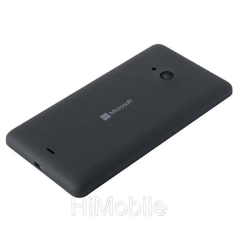 Задняя крышка Nokia Lumia 535 Dual Sim, RM-1090 (Microsoft) черная