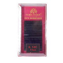 Набор ленточных ресниц Global Fashion 11 мм C 0.12