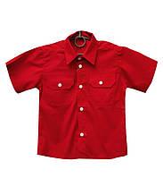 Рубашки для мальчиков в школу однотонные. , фото 1