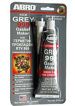 Герметик двигуна (прокладки) сірий 85 гр. ABRO 99-AB/9AB (999)