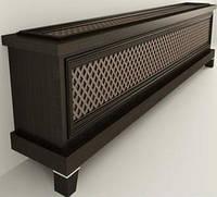 Деревянная решетка для батареи отопления 25