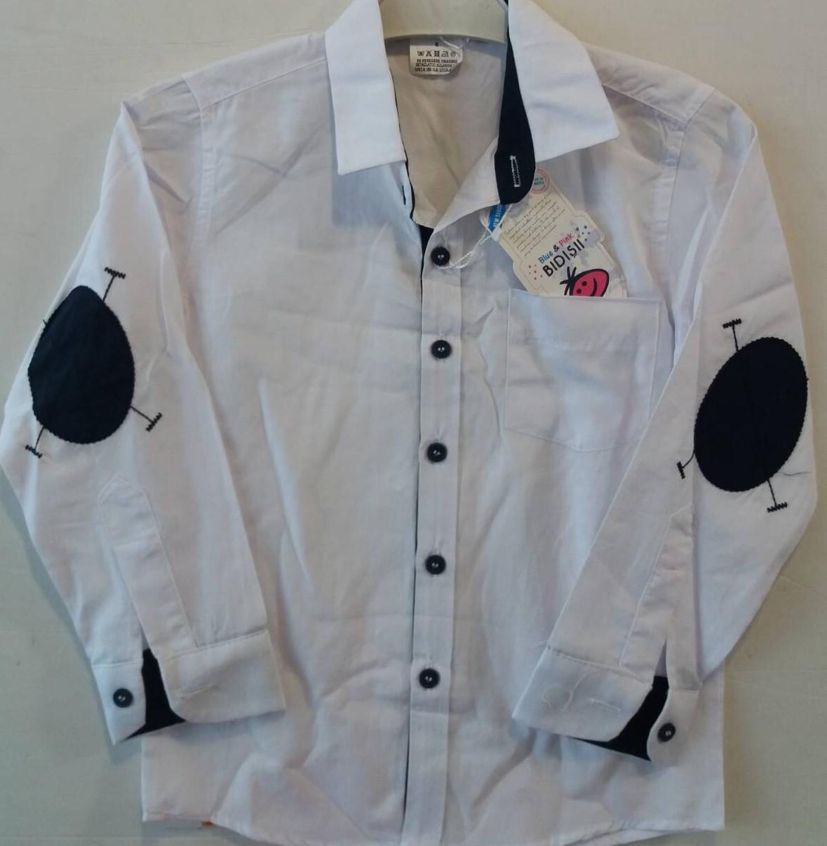 87d63ec1e53 Школьная рубашка для мальчика оптом на 6-9 лет - Интернет- магазин