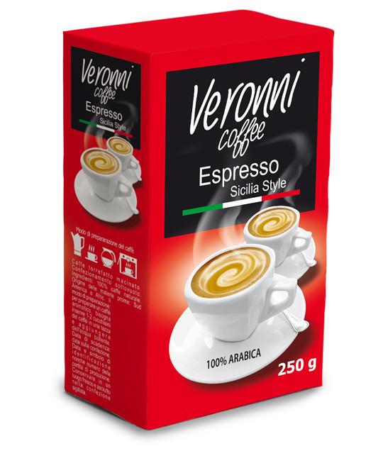Кофе молотый Veronni Espresso Caffee, 250г