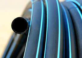 Труба полиэтиленовая черная 16*