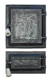 Печные дверцы, комплект Пальма