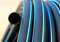 Труба полиэтиленовая черная 50*, фото 1