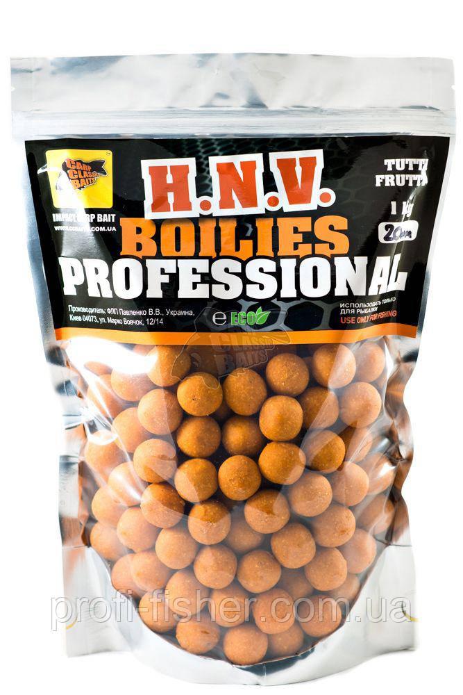 Пылящие Бойлы Professional Soluble Tutti Frutti, 20мм, 1кг