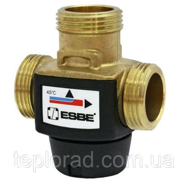 Термостатический переключающий клапан VTD322 ESBE G 1 DN20 50 C kvs 3.6
