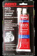 Герметик двигателя (прокладки) красный 85 гр. ABRO 11-АВ СH