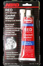Герметик двигуна (прокладки) червоний 85 гр. ABRO 11-АВ СН