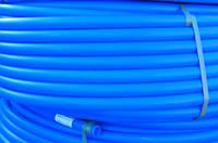Труба полиэтиленовая синяя (пищевая) 25*, фото 1