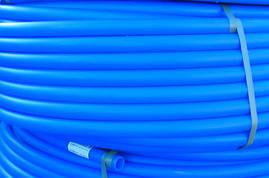 Труба полиэтиленовая синяя (пищевая) 25*
