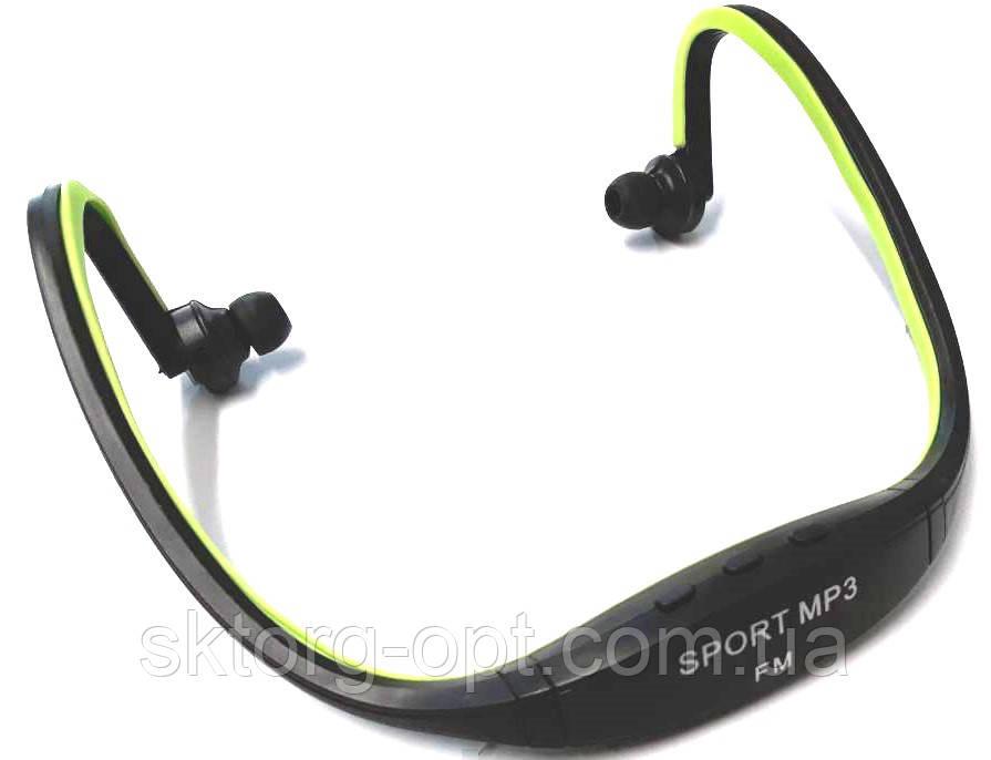 Спортивные наушники-проигрыватель Sport MP3-FM-TF