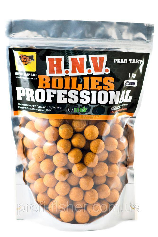 Пылящие Бойлы Professional Soluble Pear Tart, 20мм, 1кг