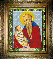 Рисунок на холсте для вышивки бисером Святой Стилиан, покровитель детей