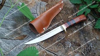 Нож нескладной 2209 K, рыбацкий, надежная рукоятка