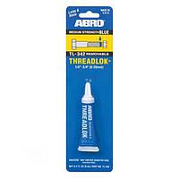 Клей для резьбовых соединений 6 мл. синий ABRO TL-342