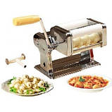 Машинка для приготовления равиоли Ravioli Maket - тестораскатка, фото 5