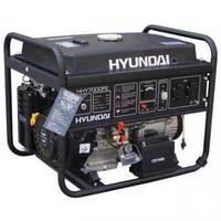 Генератор бензиновий Hyundai HHY 9000FE + колёса + счётчик моточасов