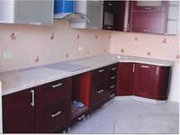 Кухня из массива дерева 16