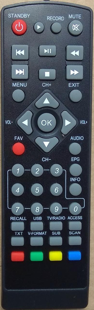 Пульт от тюнера эфирного цифрового телевидения Т2 Romsat TR-2020, T2 ULTRA.
