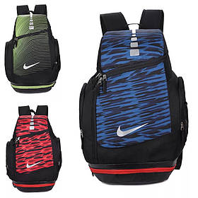 Рюкзак городской Nike зелено-черный